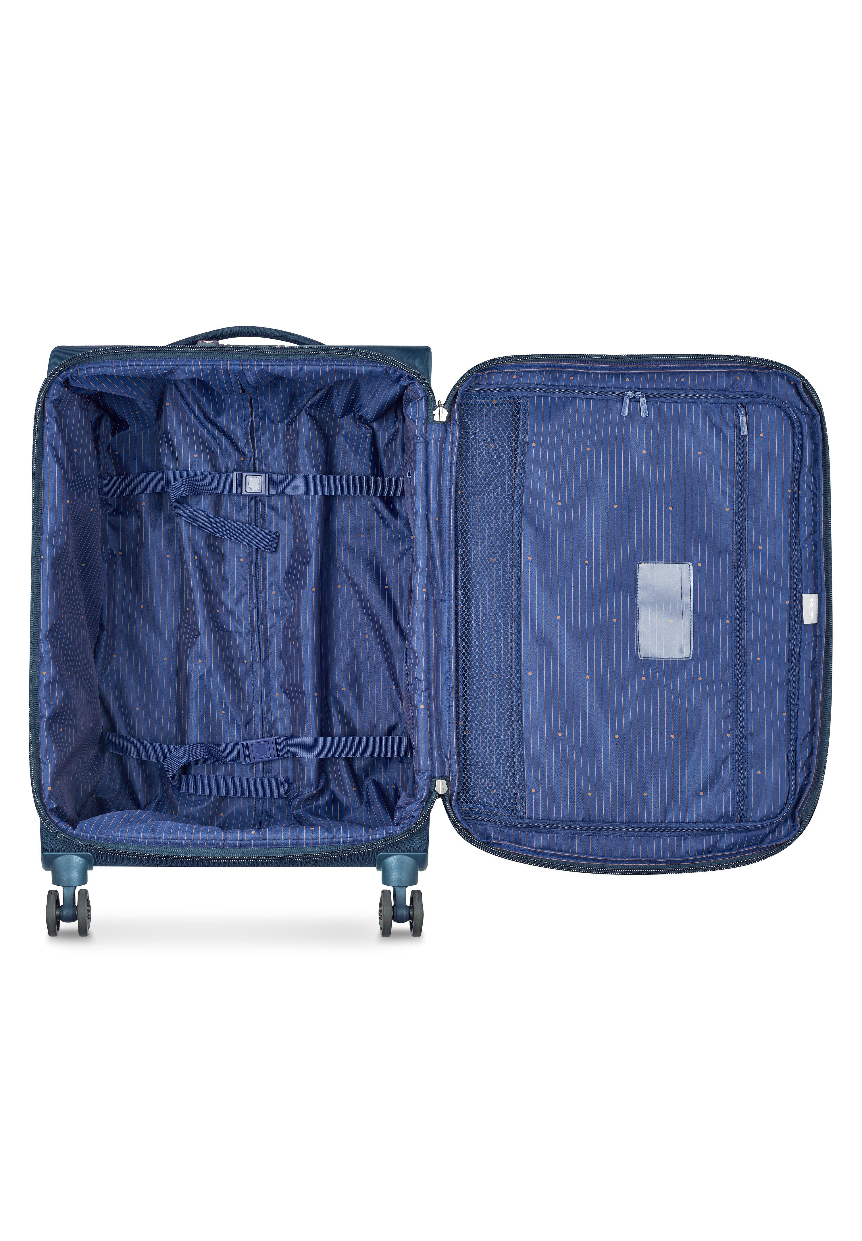 Delsey MONTMARTRE AIR 4-ROLLEN TROLLEY 68 CM - Valise à roulettes - blau