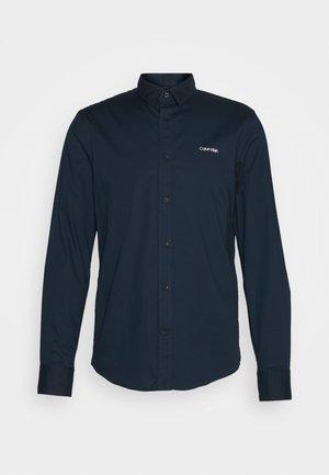 SLIM FIT STRETCH - Shirt - navy