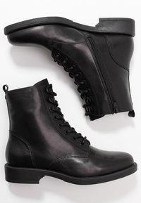 s.Oliver BLACK LABEL - Lace-up ankle boots - black - 3