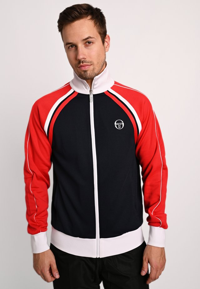 Training jacket - navy/red