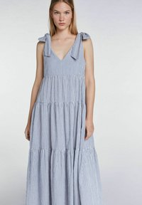 SET - Maxi dress - blue white - 5