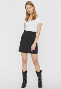 Noisy May - A-line skirt - black - 1
