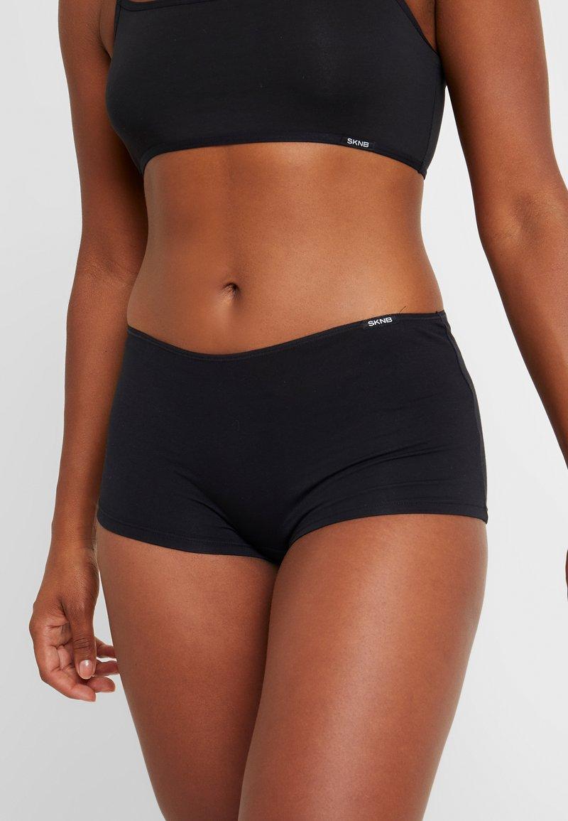 Skiny - ESSENTIALS WOMEN LOW CUT  - Onderbroeken - black