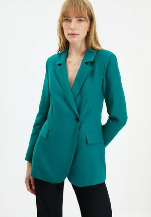 Abrigo corto - green