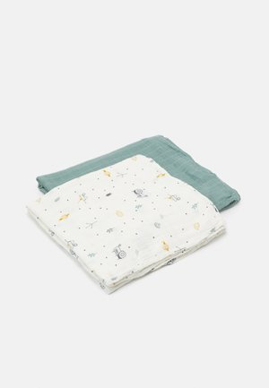 HEAVENLY SWADDLE GARDEN EXPLORER BOYS 2 PACK - Hydrofiele doek - green