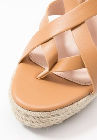 RAID - ROCIO - High heeled sandals - dark coral - 2