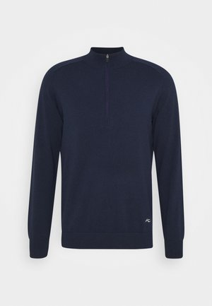 MEN KIRK FRONT LOGO - Sweatshirt - atlanta blue melange