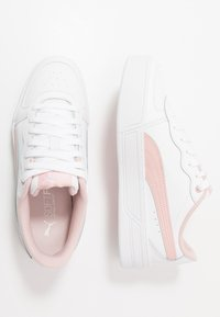 Puma - SKYE - Baskets basses - white/peachskin - 3