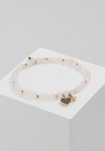 VINTAGE MOTIFS - Bracelet - gold-coloured/pink