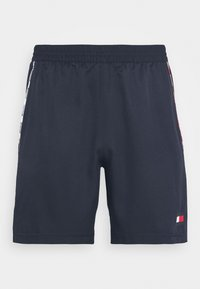 Tommy Hilfiger - PIPING SHORT - Sports shorts - blue - 4