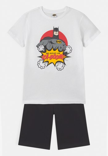 BATMAN SET - Tracksuit bottoms - brilliant white