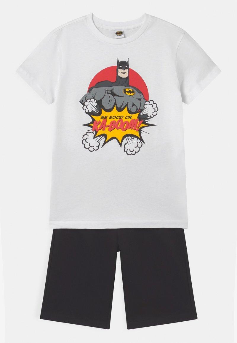 OVS - BATMAN SET - Tracksuit bottoms - brilliant white
