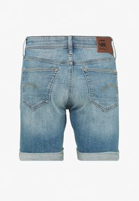 G-Star - 3301 SLIM - Denim shorts - blue denim - 1