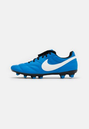PREMIER II FG - Moulded stud football boots - light photo blue/sail/black