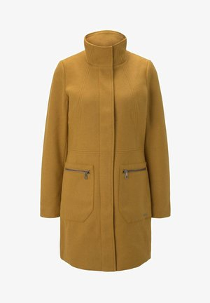 Short coat - warm curry yellow