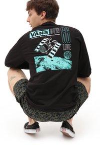 Vans - MN BROADCAST 66 LS - Long sleeved top - black - 1