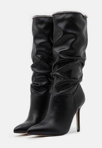 BEBO - SHORE - Boots med høye hæler - black - 2