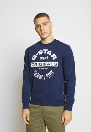 ORIGINALS LOGO - Sudadera - imperial blue