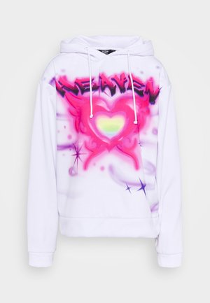 OVERSIZED HOODIE HEAVEN PRINT - Mikina s kapucí - multicolor