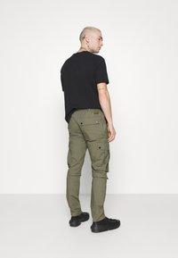 Topman - TECH BUNGEE - Cargo trousers - khaki - 2