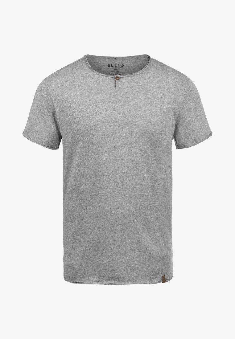 Blend IRETO - T-Shirt basic - light blue/hellblau kWUSUs