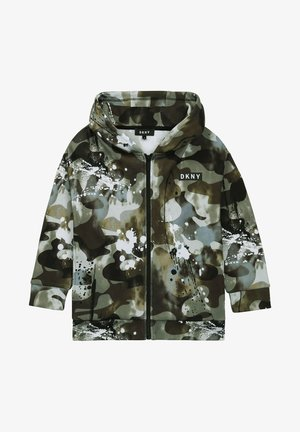 Sweater met rits - camouflage