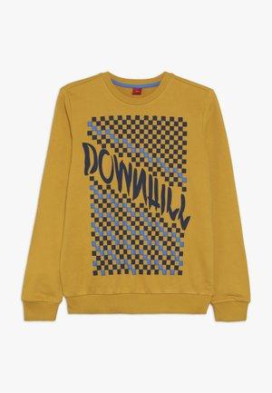 LANGARM - Sweatshirt - dark yellow