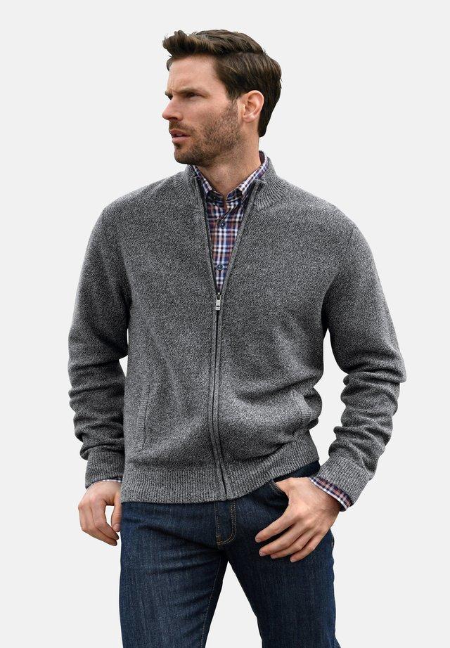 MIT STEHKRAGEN - Vest - schwarz/grau