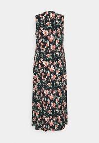 Anna Field Curvy - Maxi dress - black/pink/dark green - 1