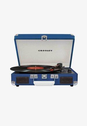 PLATTENSPIELER CRUISER DELUXE - Record player - blue