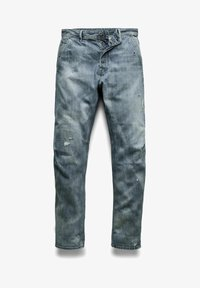 G-Star - GRIP 3D RELAXED TAPERED - Jean boyfriend - faded bay burn destroyed - 4