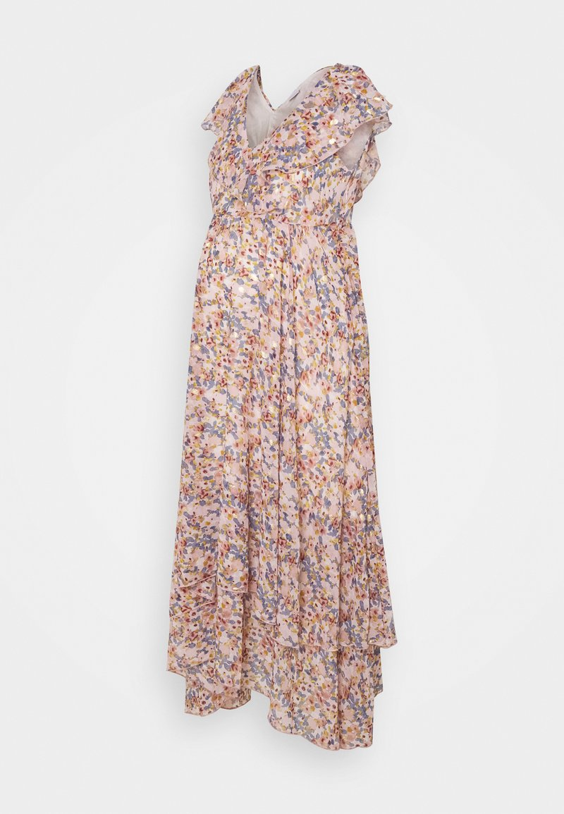 MAMALICIOUS - MLJASMINA CAP DRESS - Vestido largo - snow white