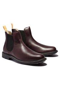 Timberland - BELANGER EK+ - Classic ankle boots - burgundy full grain - 3