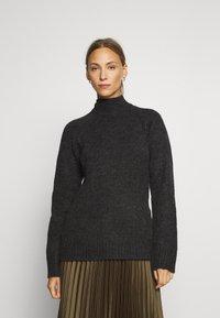 Anna Field - Jersey de punto - dark grey melange - 0