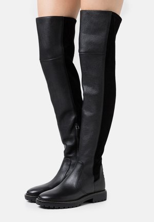 MILLER LUG SOLE BOOT - Høye støvler - perfect black