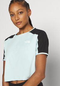 The North Face - W ACTIVE TRAIL - Print T-shirt - starlight blue - 3