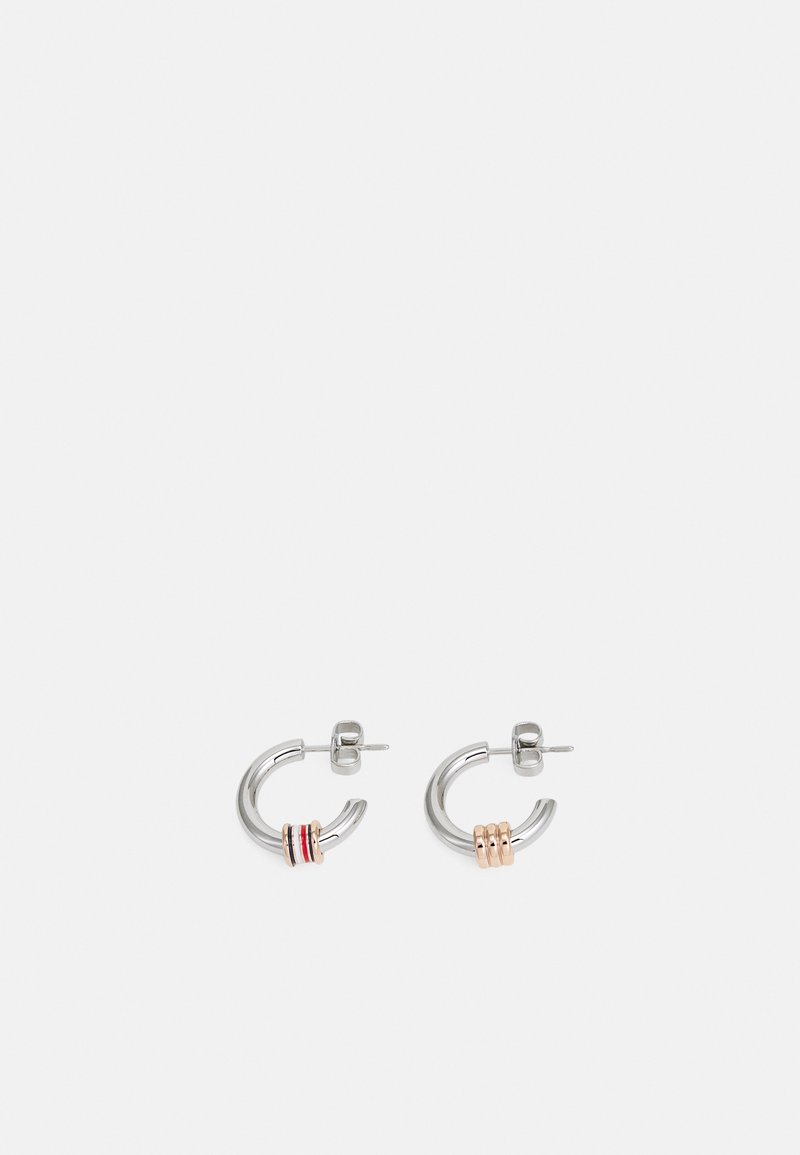 Tommy Hilfiger - TRIPLE LAYERED - Ketting - silver-coloured