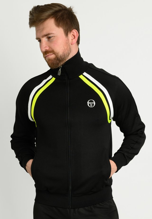 Training jacket - blk/yelflu