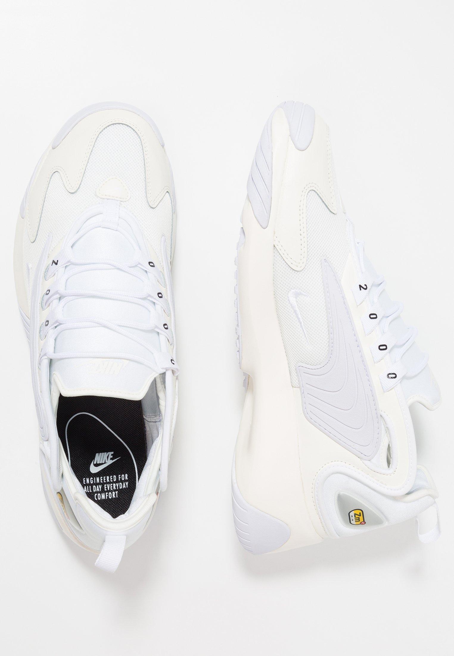 Nike Sportswear ZOOM Joggesko whiteblack Zalando.no
