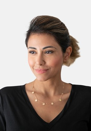 KREIS PLÄTTCHEN GEO - Necklace - gold-coloured