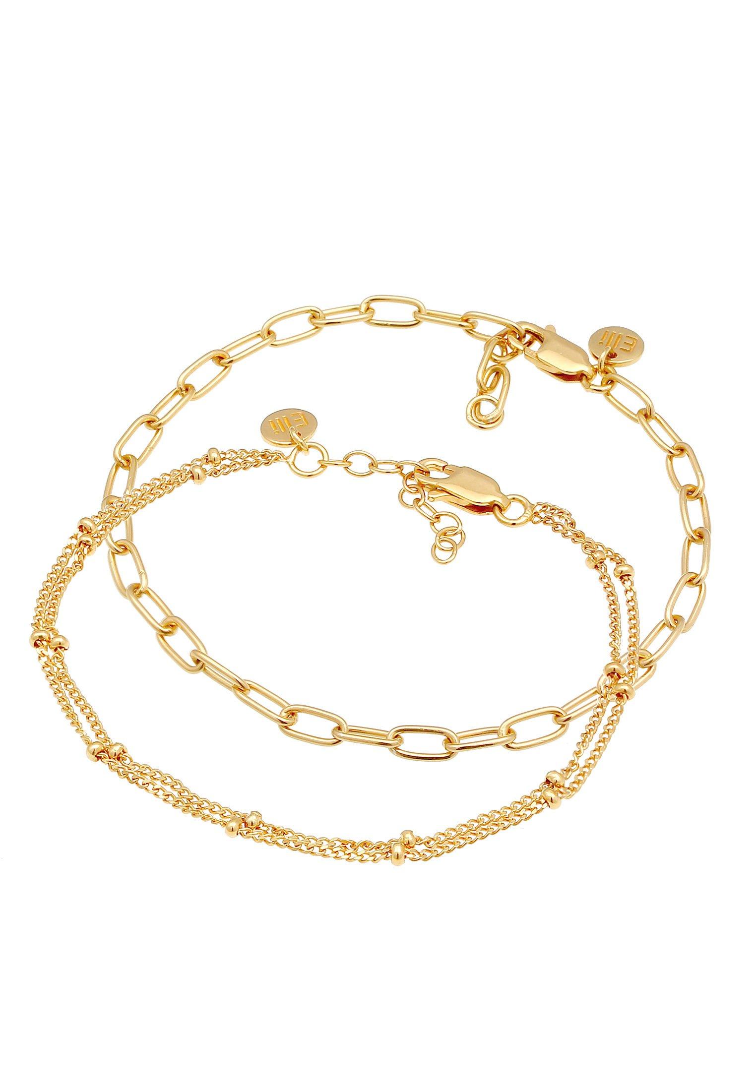 Elli 2er Set Layer - Armband Gold