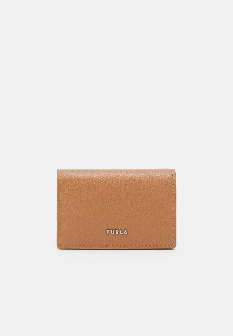 Furla - PROJECT BUSINESS CARD CASE - Peněženka - miele/blu denim