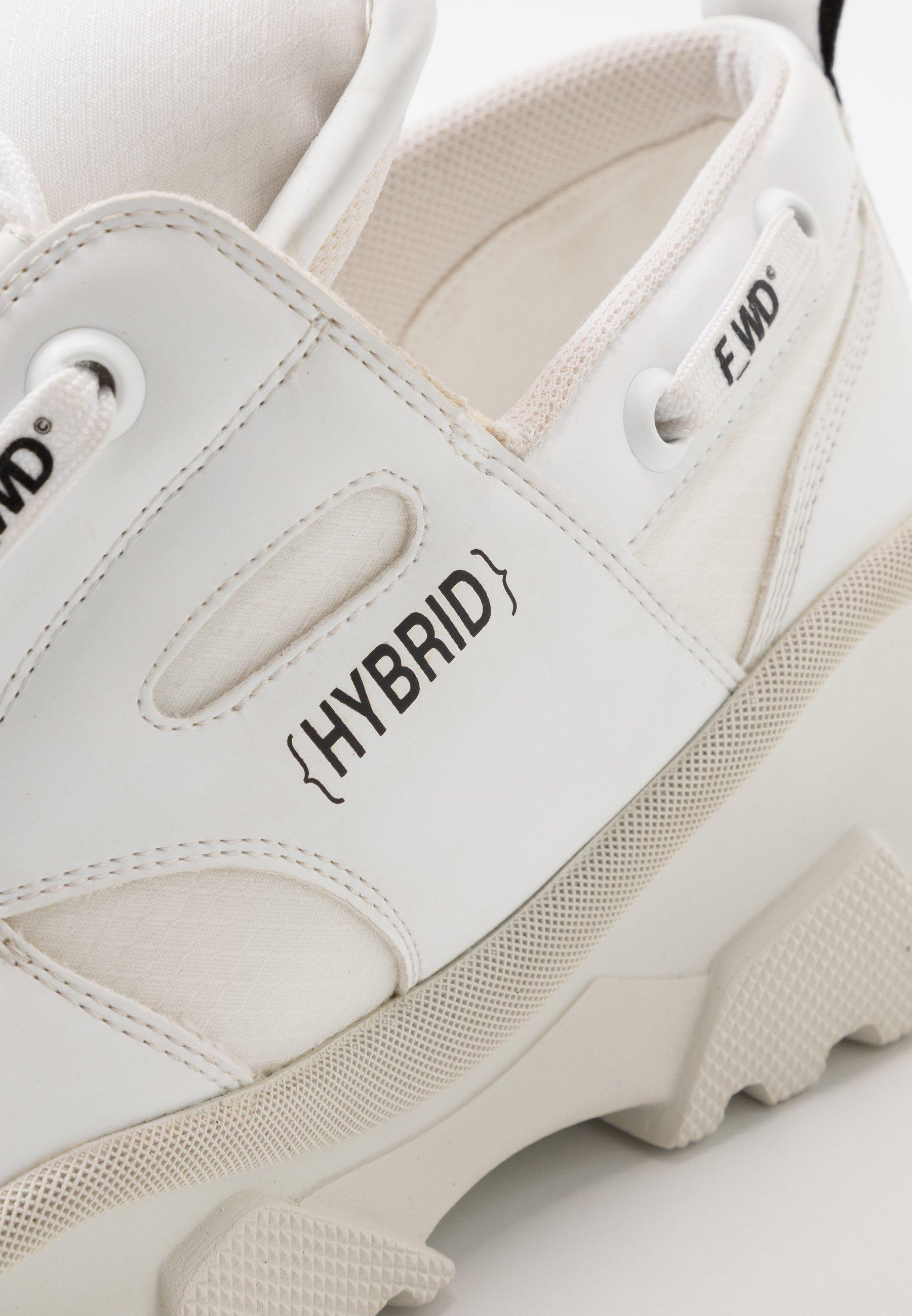 F_wd Sneakers Laag - Gommato White/cristallo