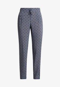 Cartoon - TILE PRINT PANTS - Pantalones - purple/khaki - 4