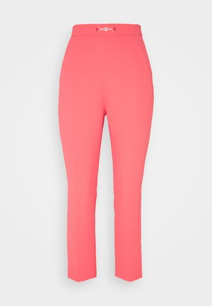 WOMEN'S PANTS - Trousers - amaranto