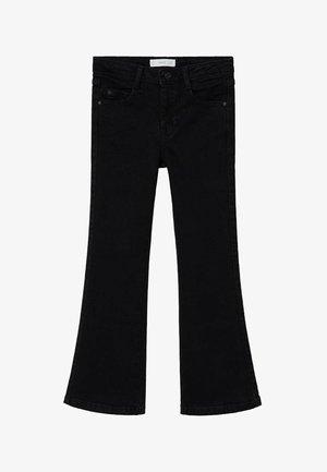 FLARE - Široké džíny - black denim