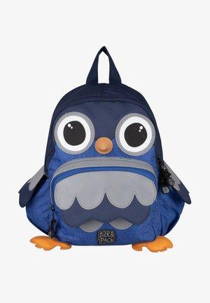OWL SHAPE - Rucksack - blue melange