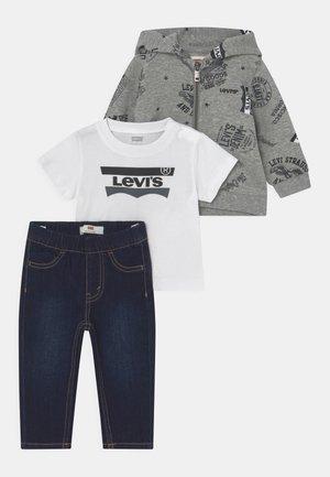 HOODIETEESET - Sweater met rits - grey heather
