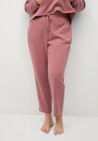 Violeta by Mango - CUPCAKE - Tracksuit bottoms - rosa - 0