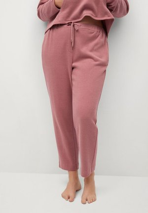 CUPCAKE - Tracksuit bottoms - rosa